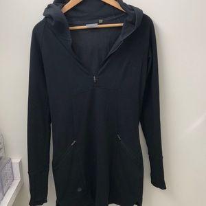 Athleta black hoodie sweater